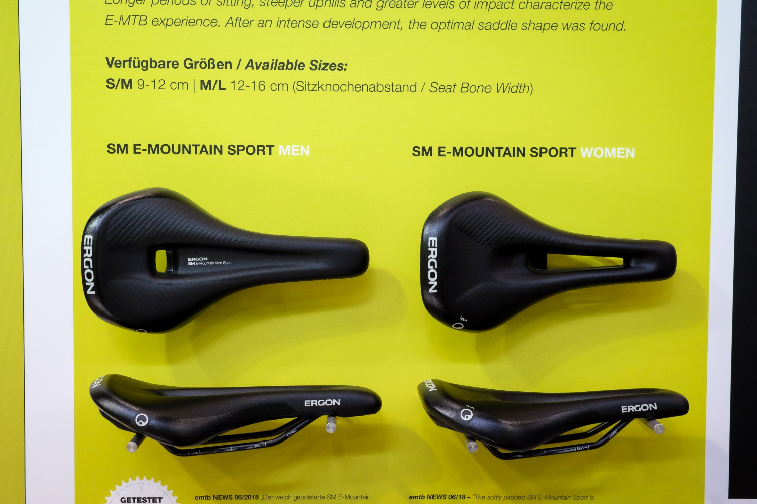 Ergon SM-E Mountain Sport Saddle