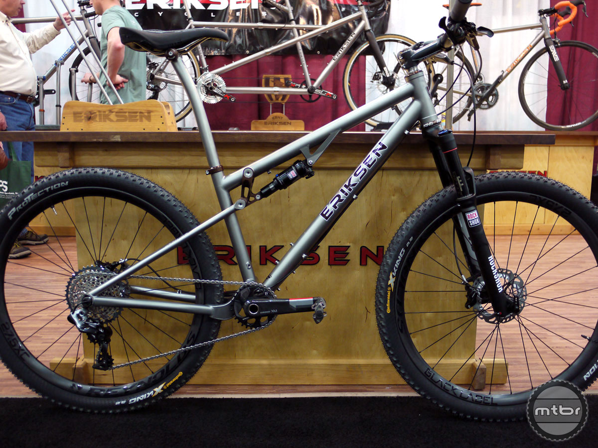 Eriksen Titanium Mountain Bike