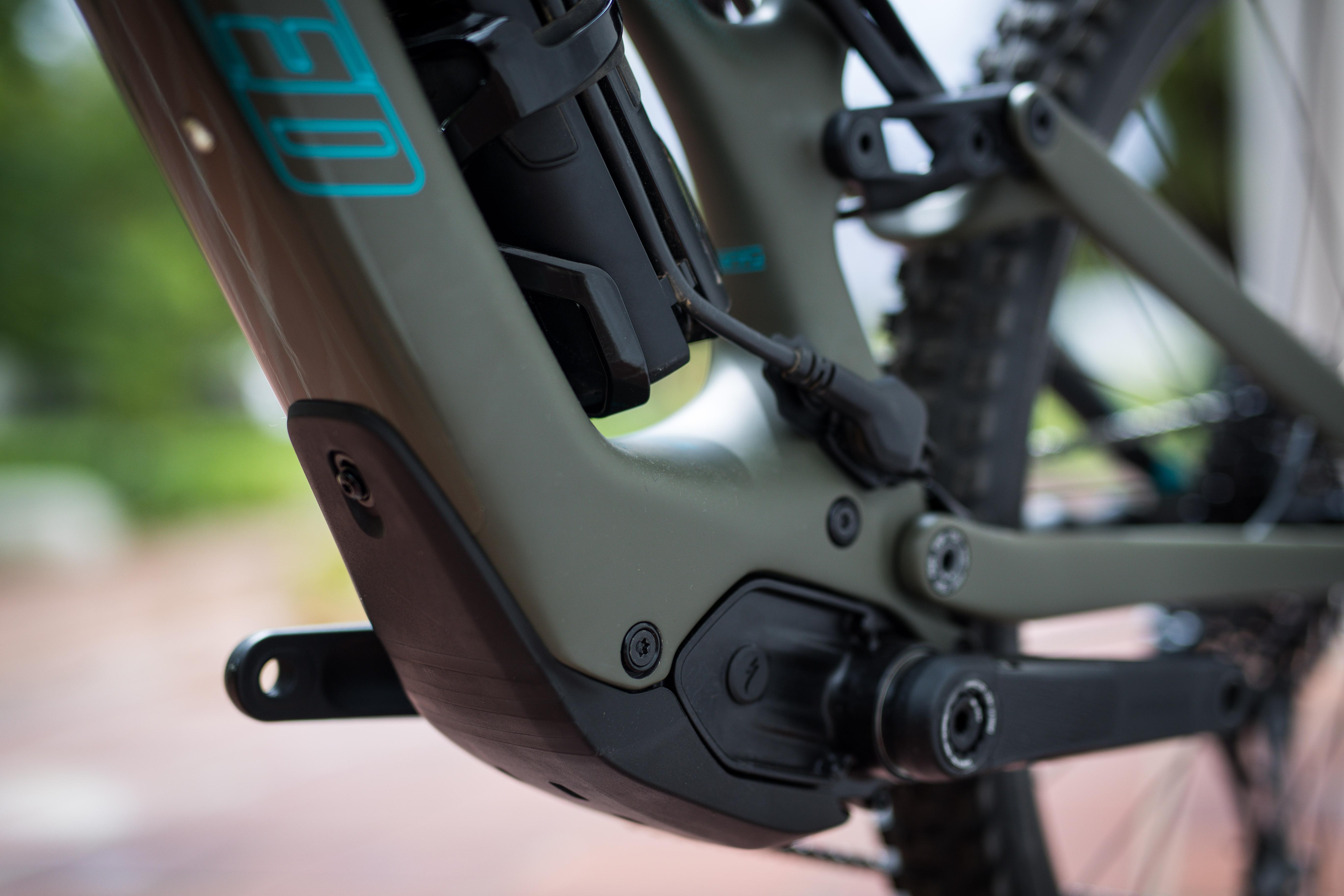 Some bikes like the Levo SL support an external range extender battery.