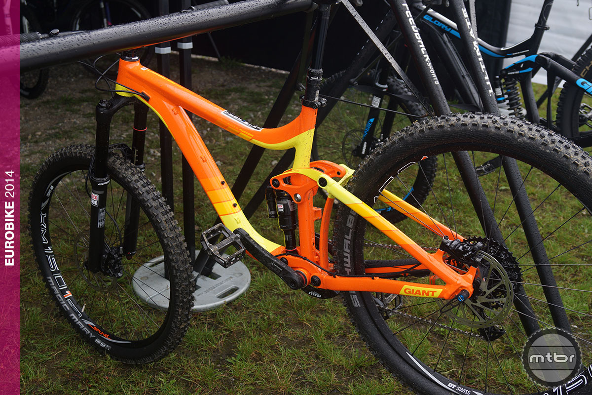 Eurobike 2015 Giant Reign 27.5 Allux