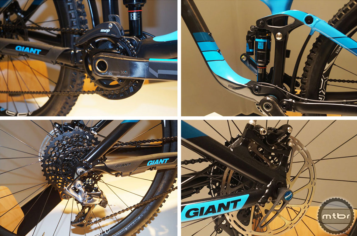 Eurobike Giant Reign Advance 27.5 0 Multi