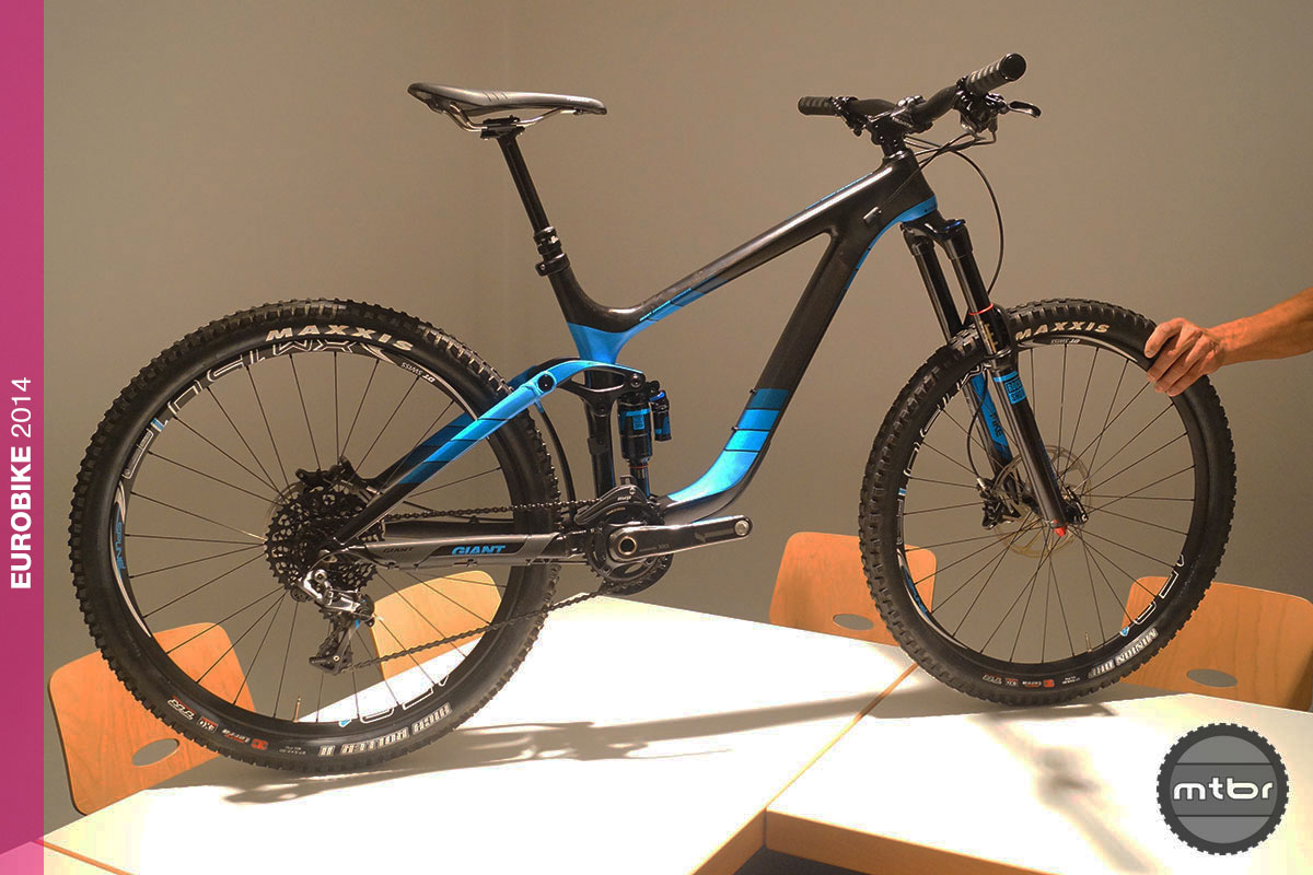 Eurobike Giant Reign Advanced 27.5 0 Team