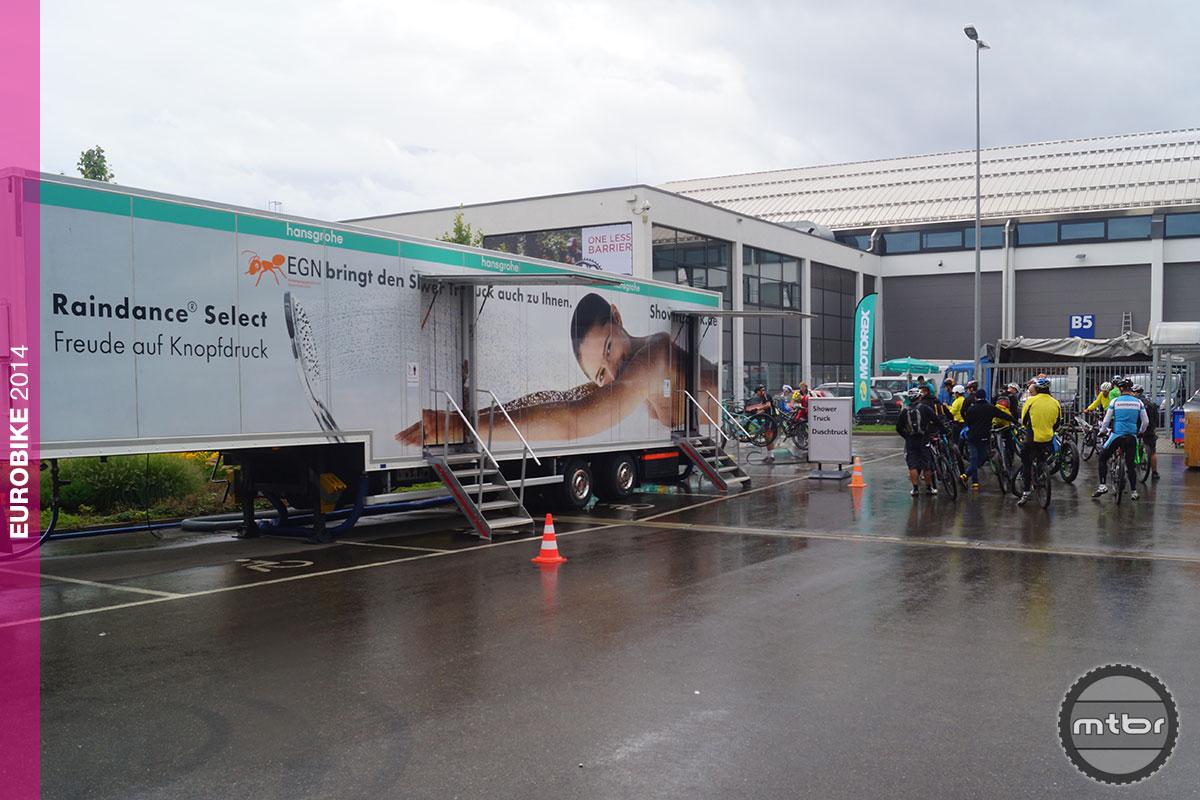 Eurobike Shower Truck