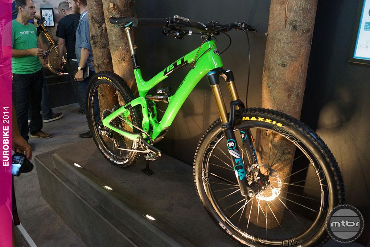 Yeti SB6c Green Machine