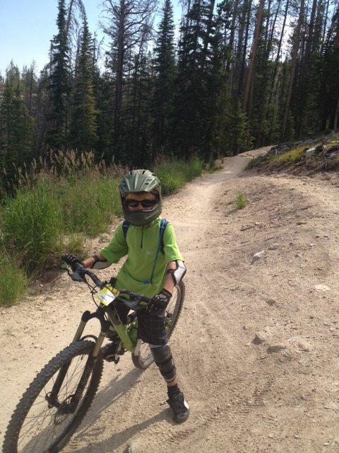 Need some advice on a crankset for kids bike....-evan_trestle.jpg