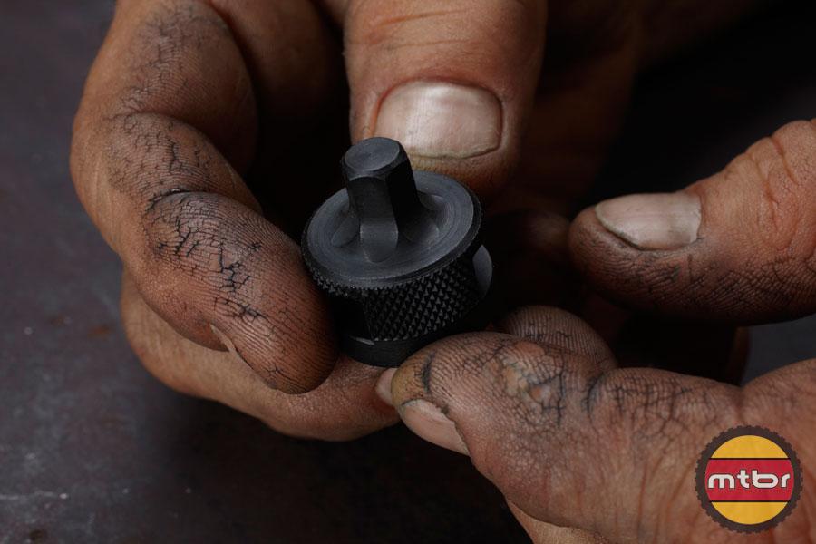 Efficient Velo Tools - Brett's Hands