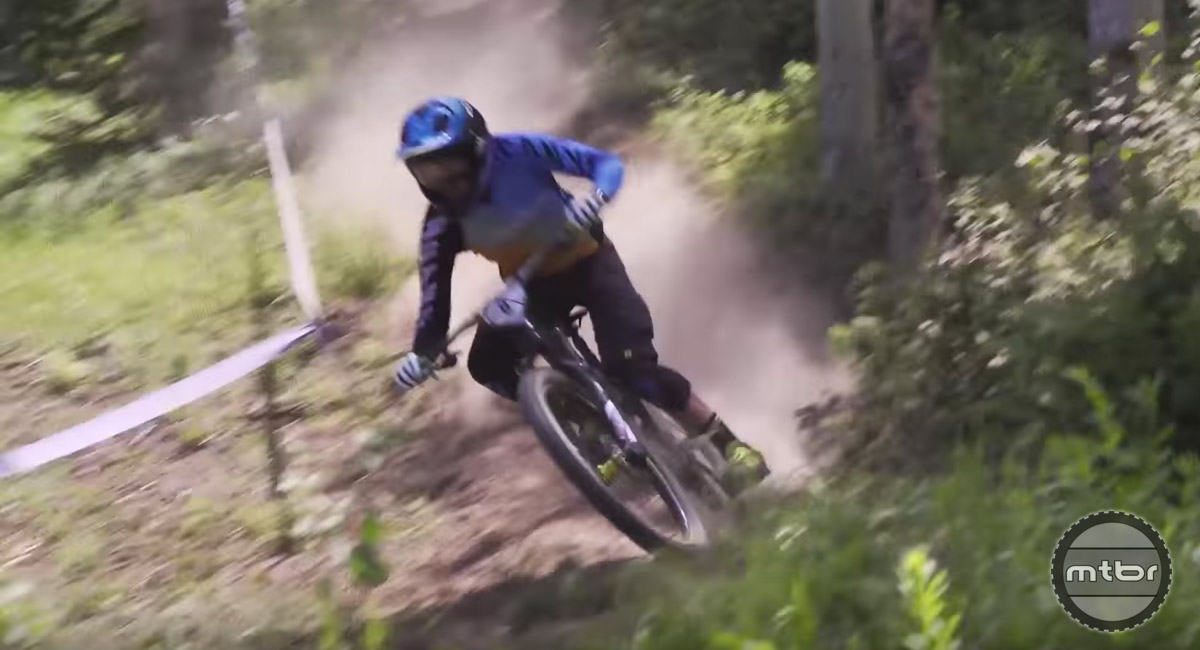 Go fast is one thing. Going fast day after day after day on the Enduro World Series circuit takes a special rider (and strong mind).