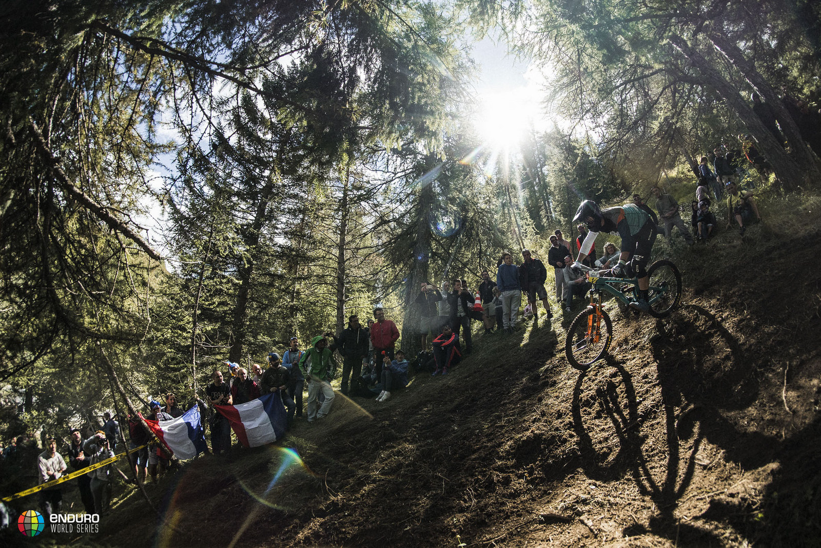 Yeti's Rude has a commanding lead, but he'll need to finish well to wrap up his second straight series title. Photo courtesy Enduro World Series