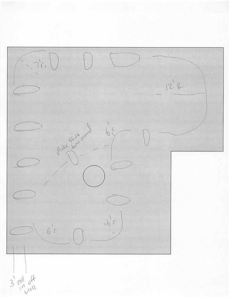 ideas for a new layout on my backyard pump track mtbr com