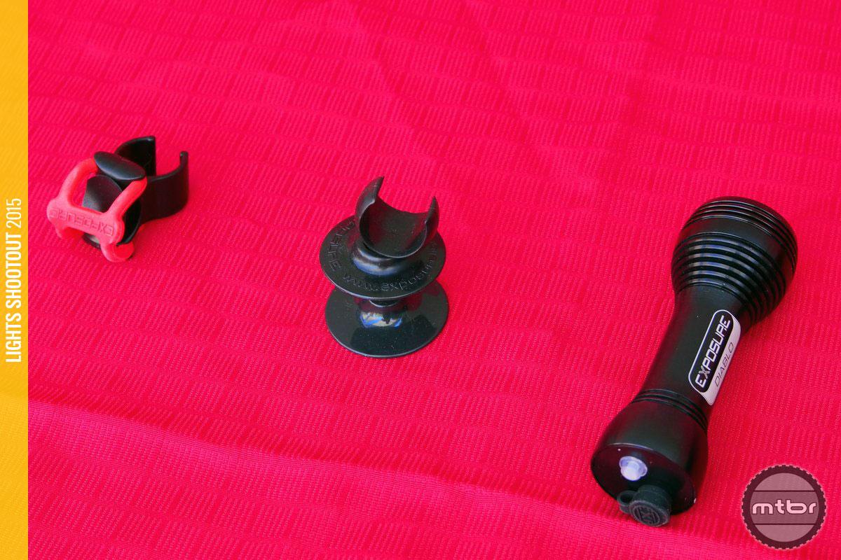 Exposure Lights Diablo Mk.6 and Mounts