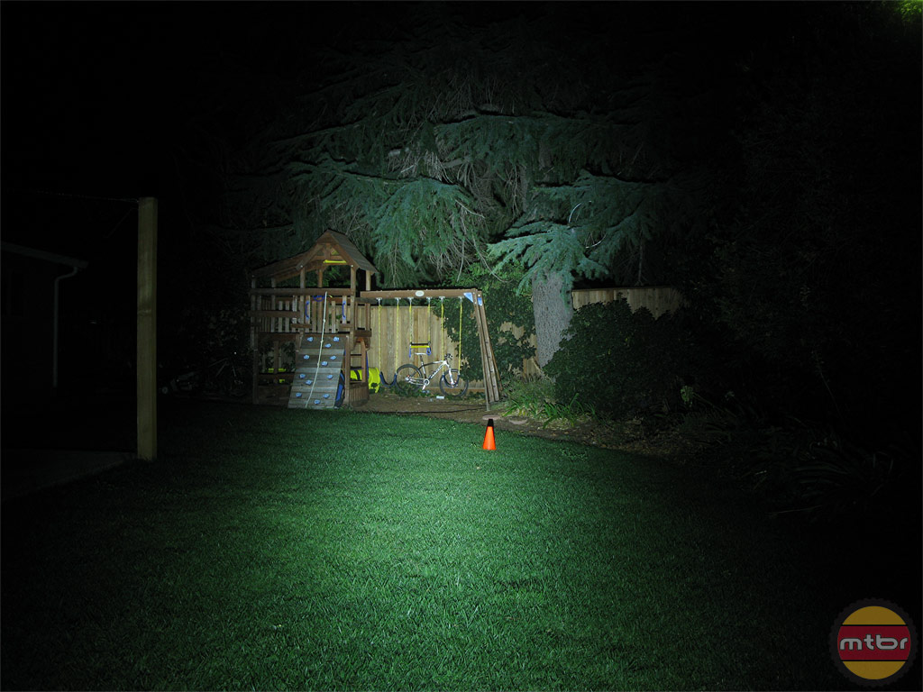 Exposure Lights Diablo Backyard Beam Pattern