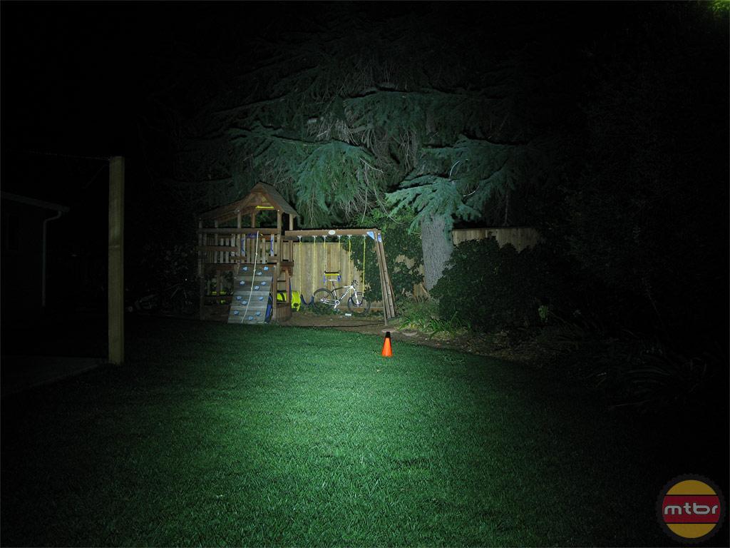 Exposure Lights Diablo Backyard Beam Pattern
