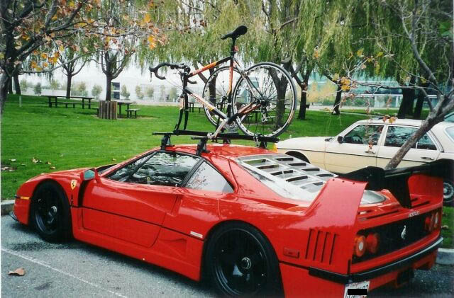Sports cars that you haul your bike to the trail head in-f40bicitetto.jpg