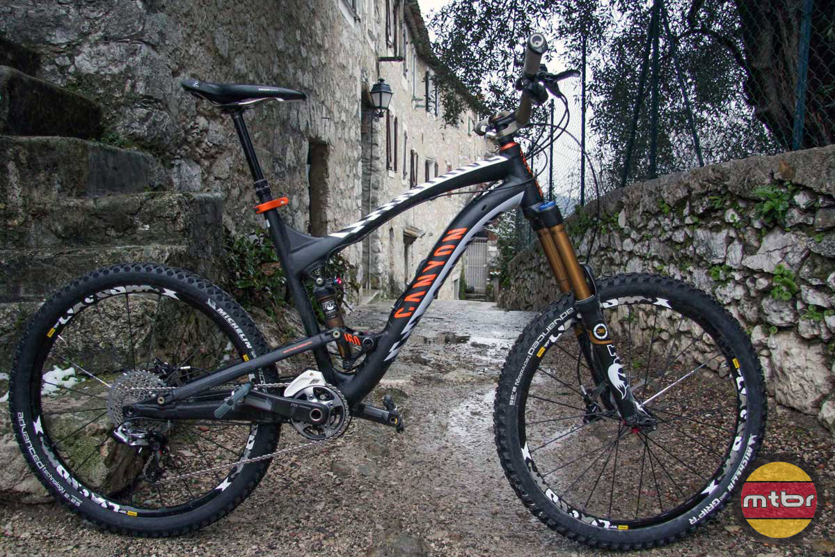 Fabian Barel's Canyon Strive
