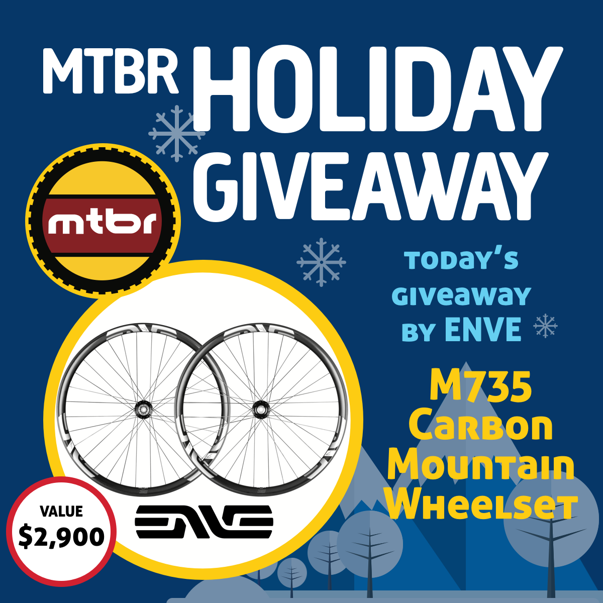 ENVE Holiday Giveaway 2017 Day 9