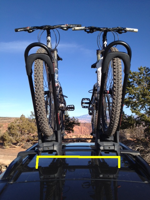 Three Yakima Frontloaders on top of Subaru Outback?-factory-rack-2bike-line.jpg