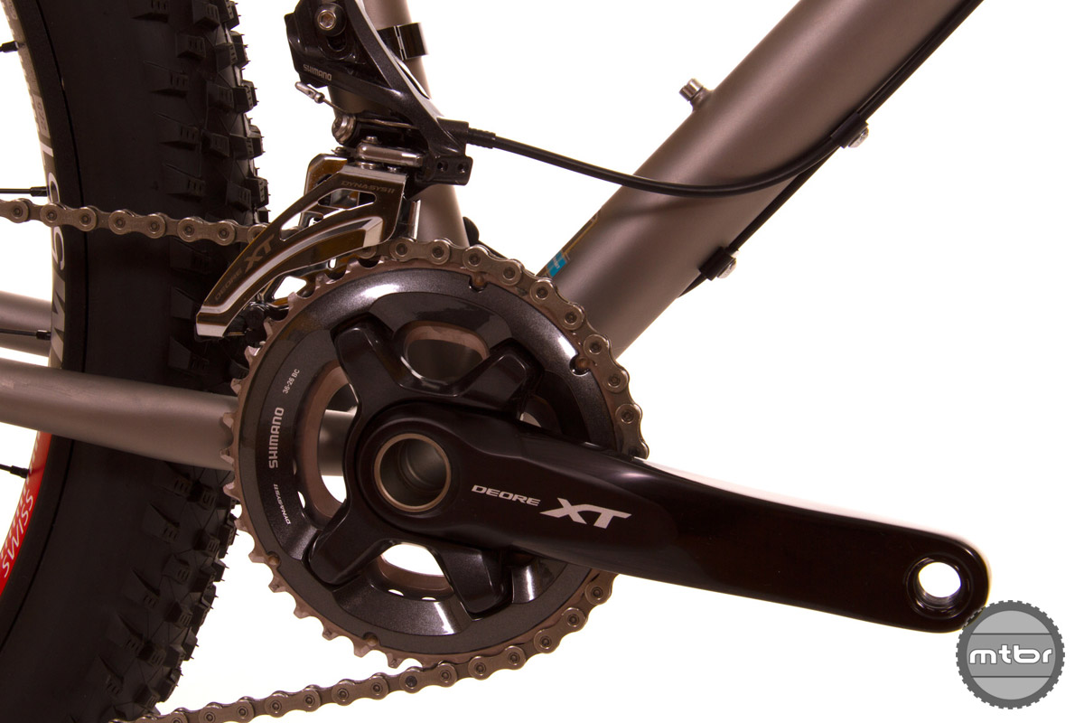 1x drivetrains may be all the rage, but Moots still believes in offering choices.