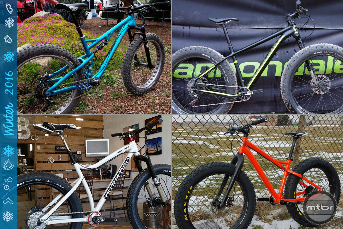 Part two of our collection of the hottest fat bikes on the market including carbon hardtails for big and small budgets, go anywhere adventure bikes and yes, even full suspension and electric fat bikes.