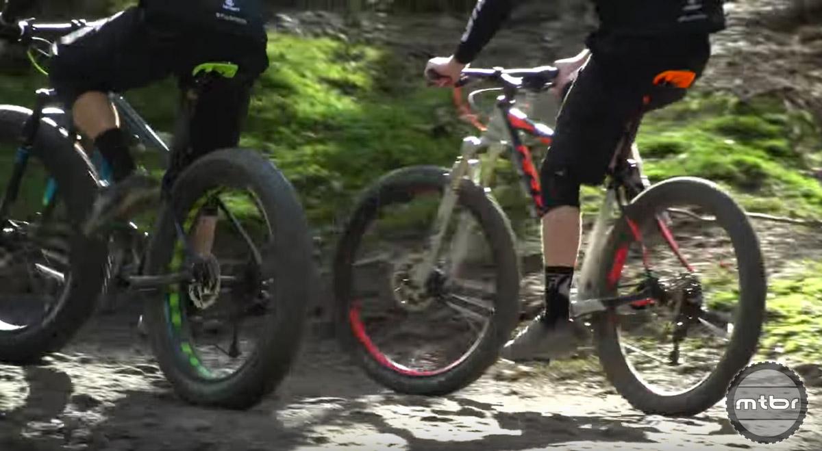 Fat Bike versus Plus Bike