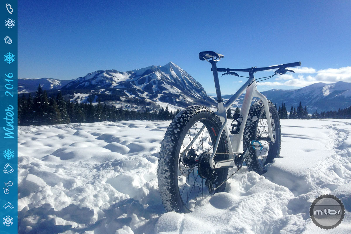 If we were only going to ride on snow, and wanted a seriously speedy machine, this bike would be near the top of the short list.