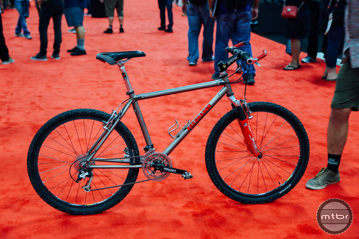 This Fat Chance Ti was Chris Chance's personal bike in 1996.