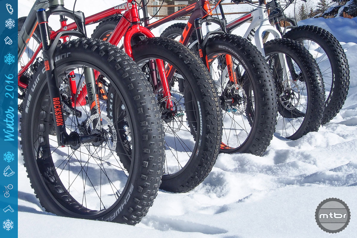 Though its primary focus is certainly on summer, the cycling industry does a fine job of opening up the doors to wintertime fun.