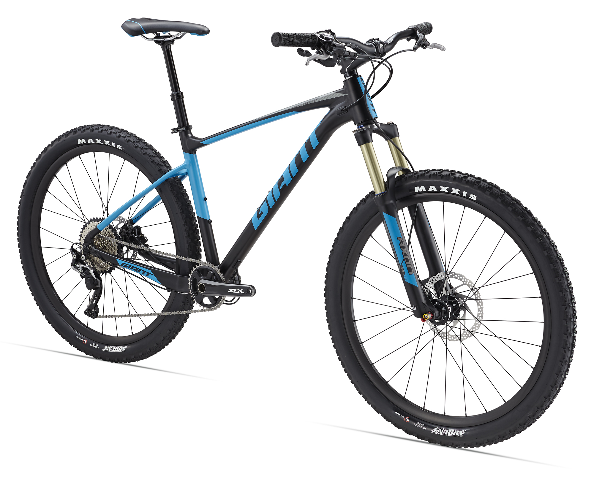 The Fathom 27.5 features a trail oriented geometry.