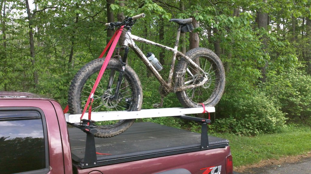 Any Options For Soft Tonneau Cover With Roof Rack Style Bars Above Mtbr Com