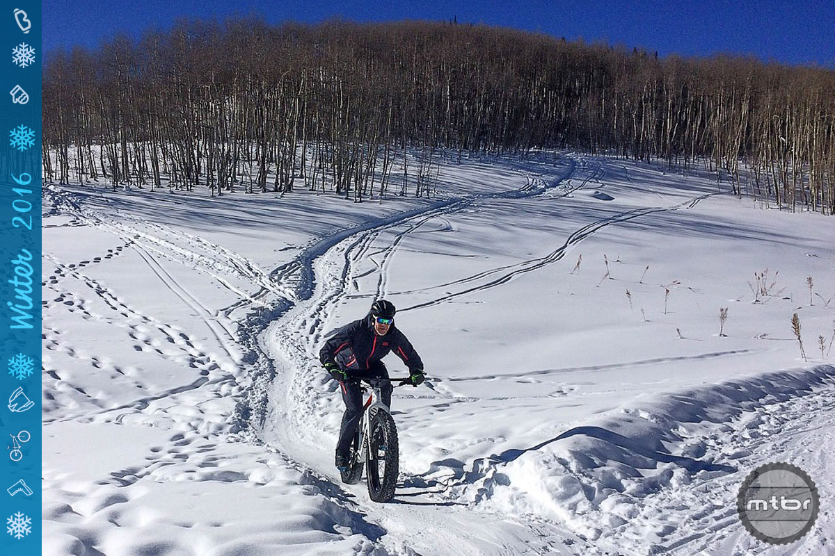 Please withhold judgment on the merits of fat biking until you've ridden true snow packed singletrack.