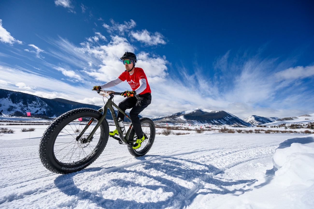 It was a chamber of commerce kind of day high in the Colorado Rockies. Photo by Robby Lloyd/Lucid Images