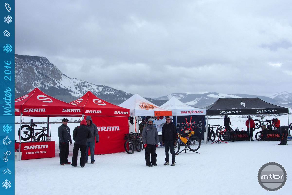 The industry showed up in Crested Butte, with the likes of SRAM, Specialized, Scott, KTM, Borealis and others setting up camp in the expo village.