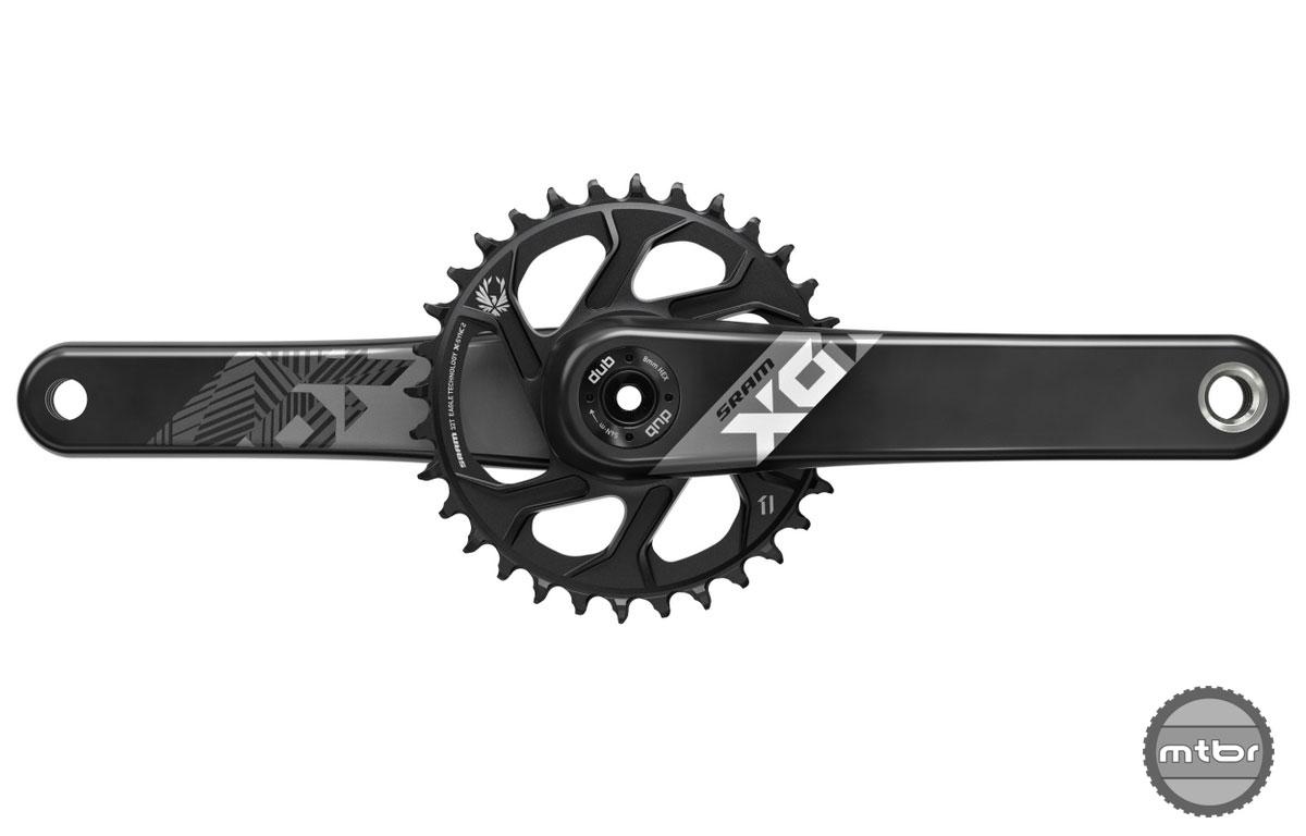 SRAM X01 Carbon Black DUB Crankset