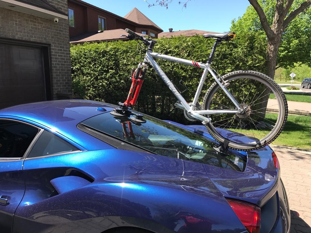 Tow Hitch Bike Rack >> audi tt - bike rack- no tow bar- Mtbr.com