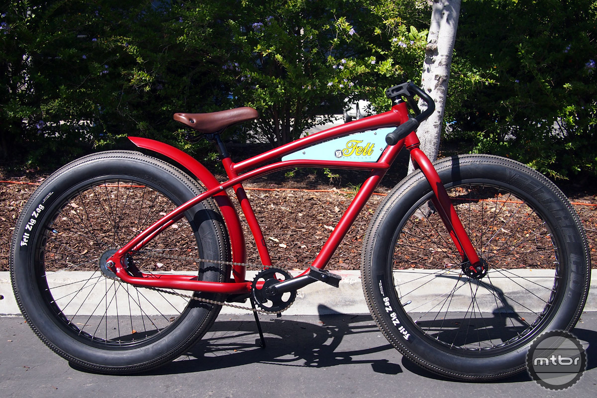Inspired by motorcycles, the Speedway has an aluminum frame and fat bike size tires and retails for $899.