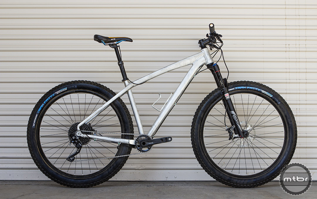 The new Felt Surplus is a 27.5+ alloy hardtail with a 1x drivetrain.