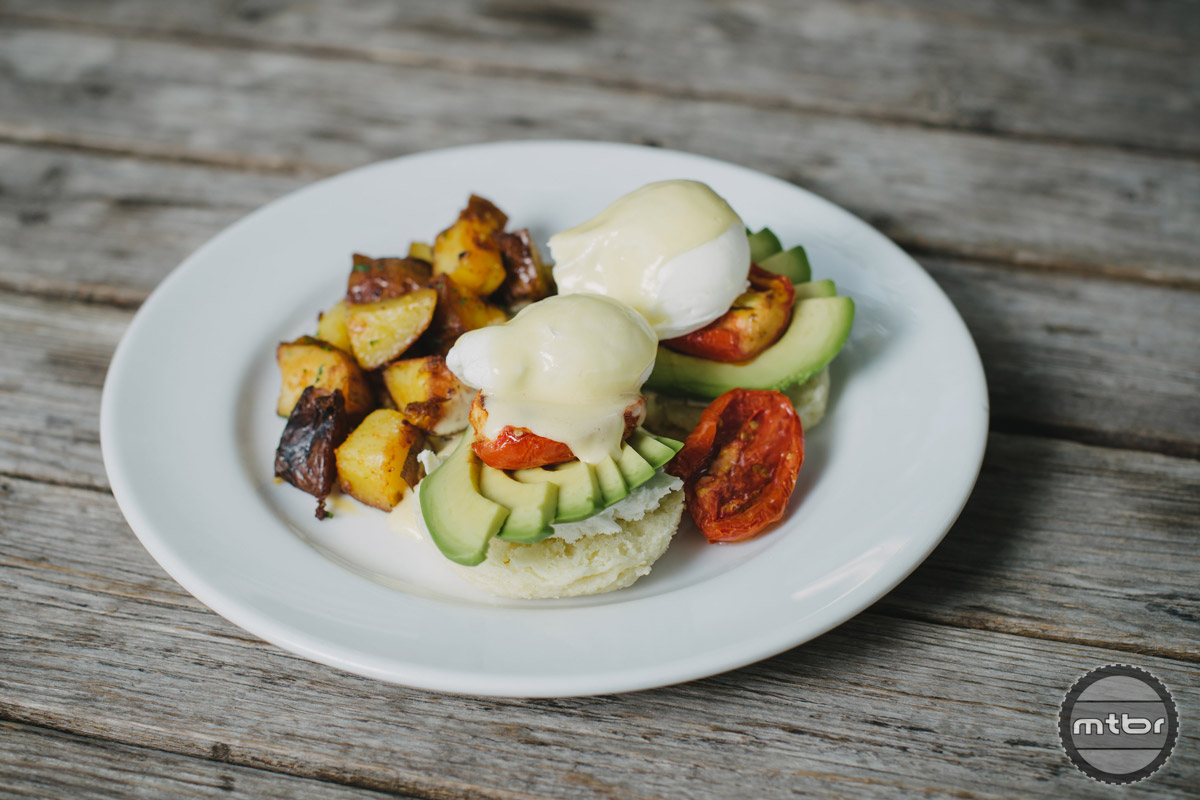 Our favourite meals at Fergie's are the avo benny and pulled pork sandwich.