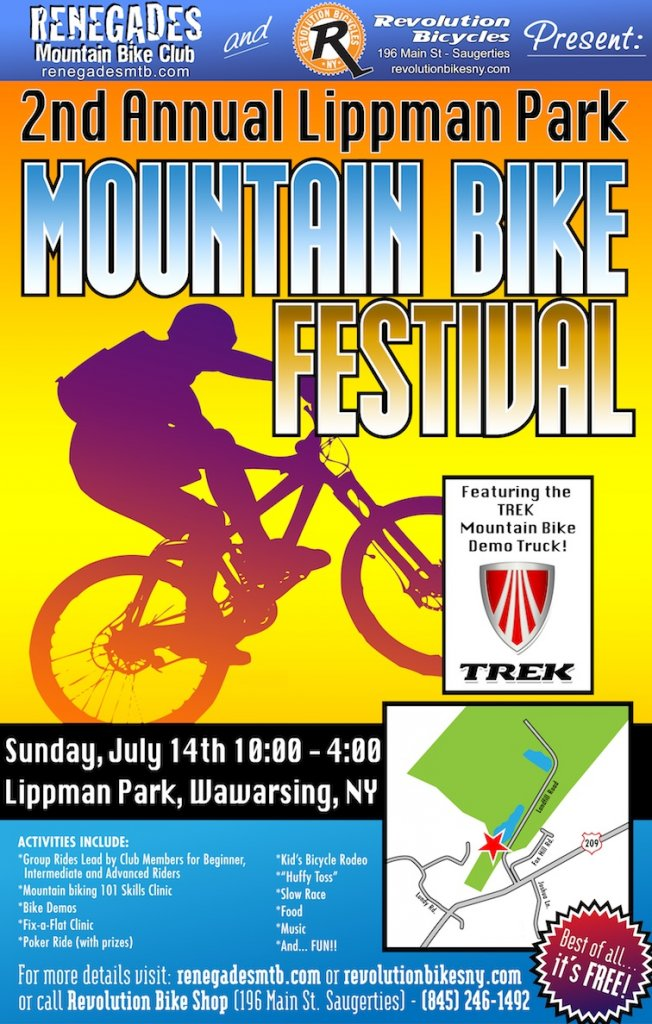 Lippman Mountain Bike Festival in Warwarsing, NY July 8th-fest_poster2013.jpg