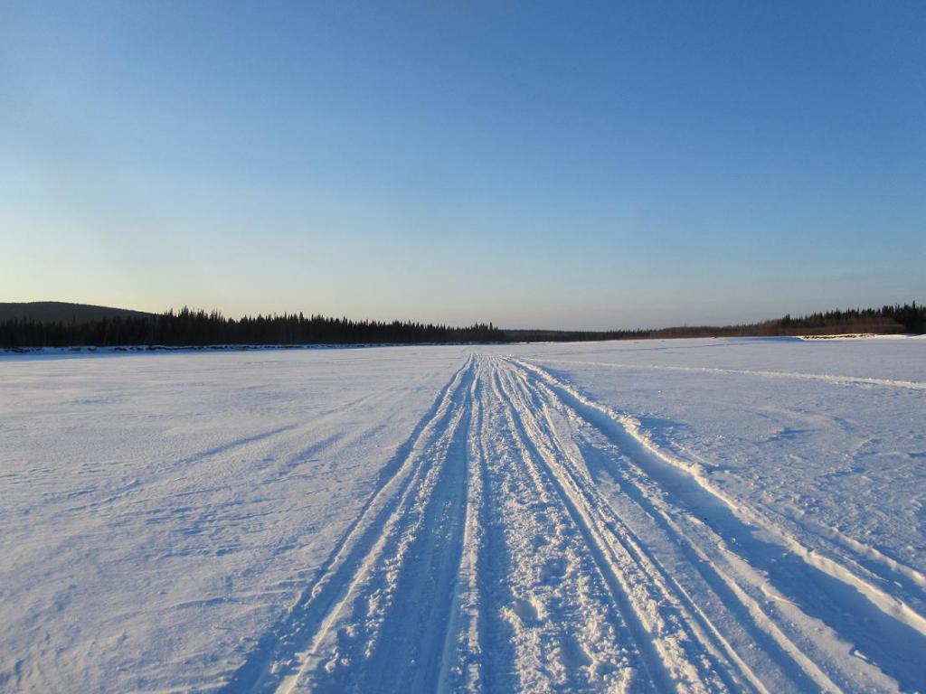 Iditarod Trail Invitational 2012-final-push-into-mcgrath-2011.jpg