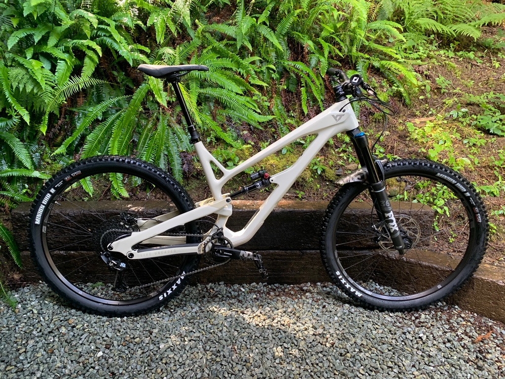Post your PICTURES of your bike if it has custom color coordinated parts-first-ride-clean-july-4-2020.jpg