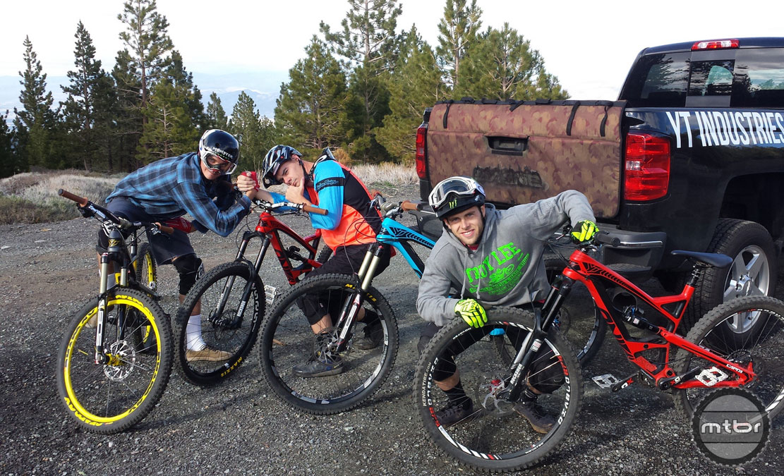 Cam and his brother Howie took Mtbr for a fun ride near the new YT Industries USA office in Truckee, CA.