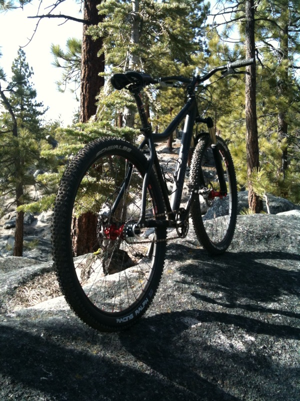 Misfit Psycles' diSSent 29'er.  Thoughts?-firstride.jpg