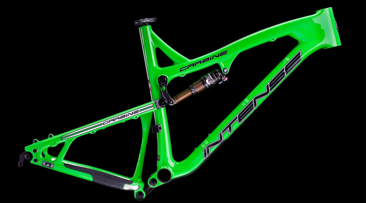 Intense Carbine 275 - flo green frame