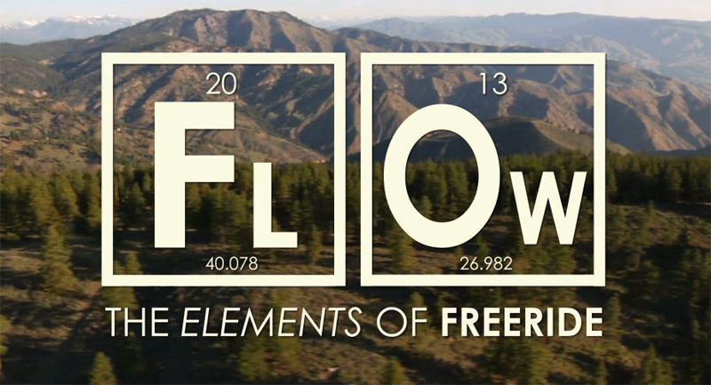 FLOW - The Elements of Freeride - title screen