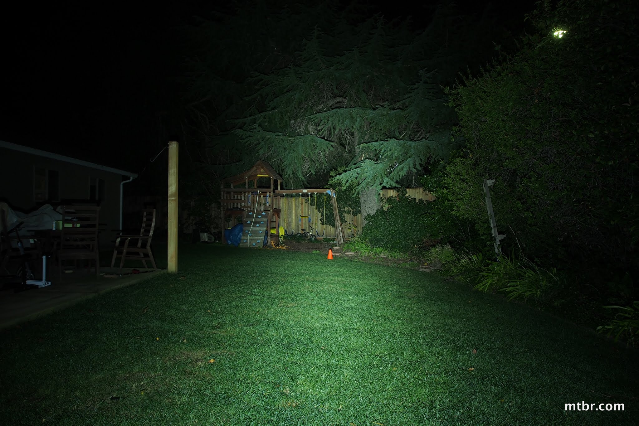 Fluxient 4xR5 1600 Backyard Beam Pattern