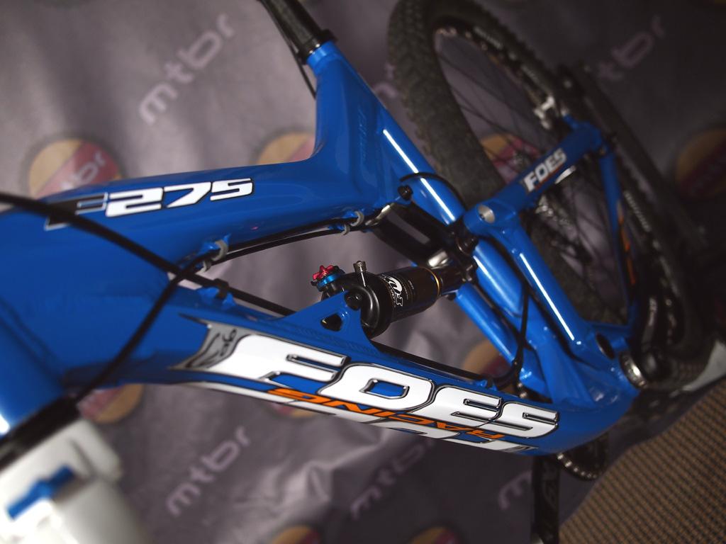 Foes F275 down tube