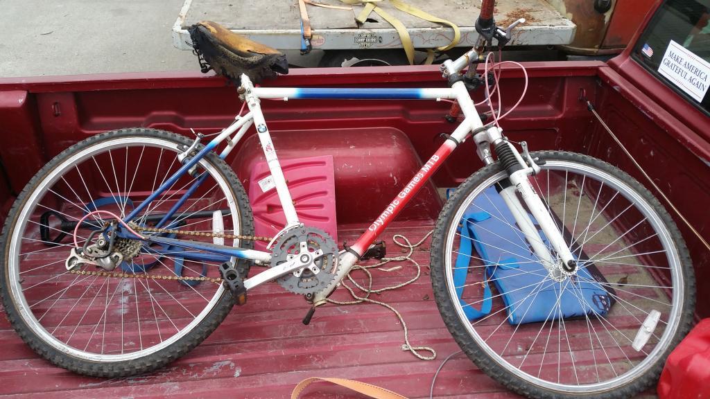 """1996 bmw """"olympic"""" folding bike- mtbr"""