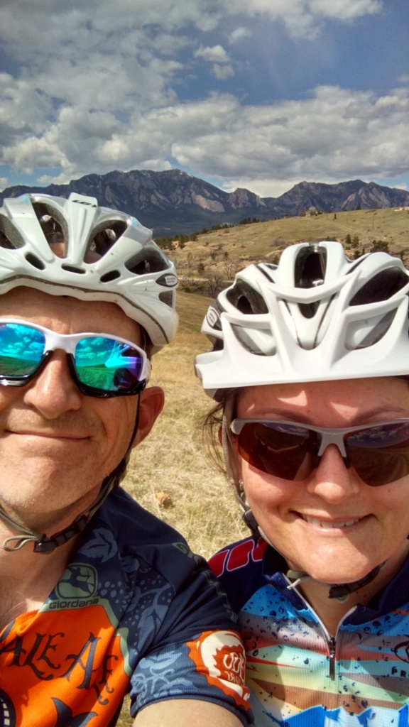 One picture, one line.  No whining. Something about YOUR last ride. [o]-foothills-ride.jpg