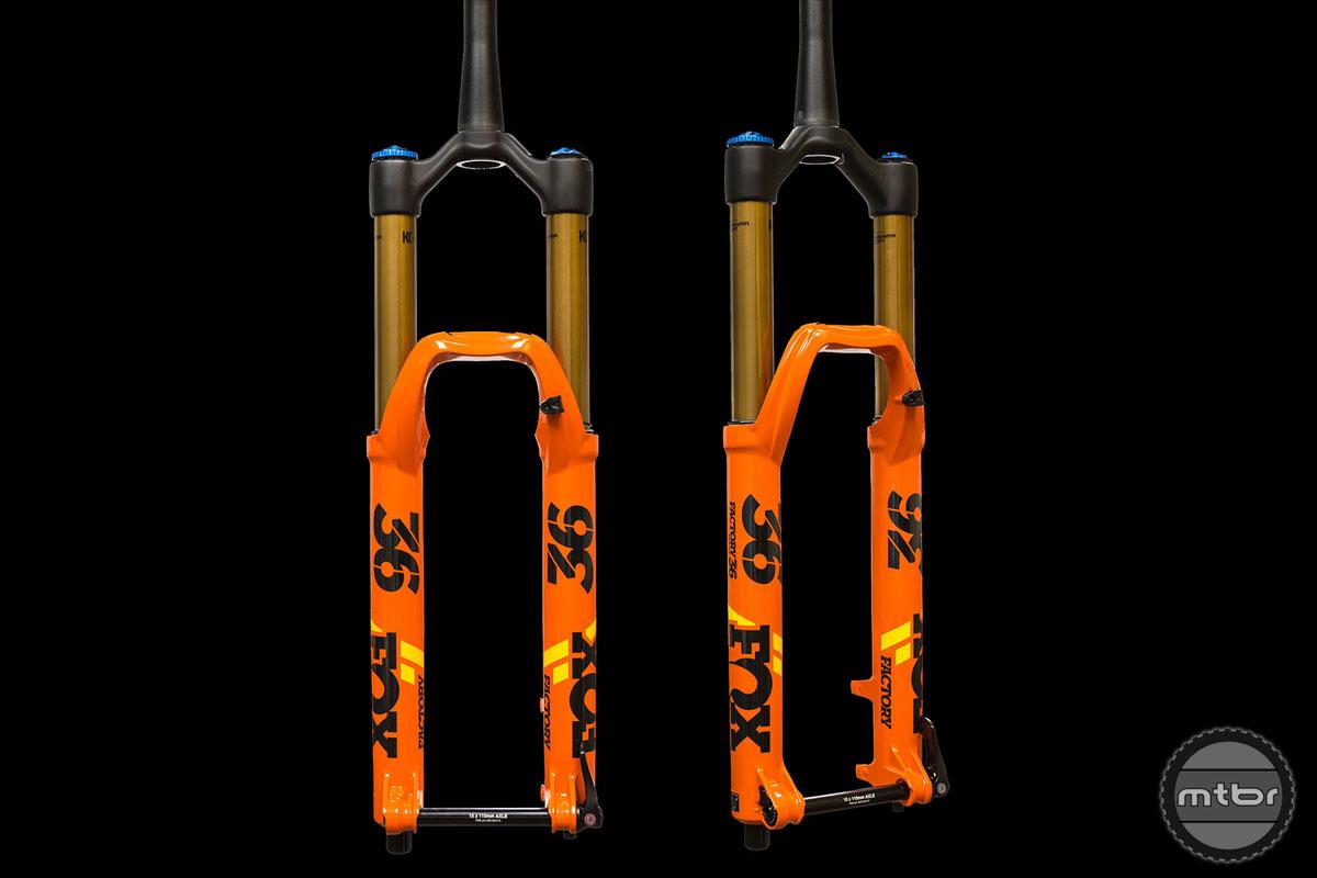Fox 36 Race Orange