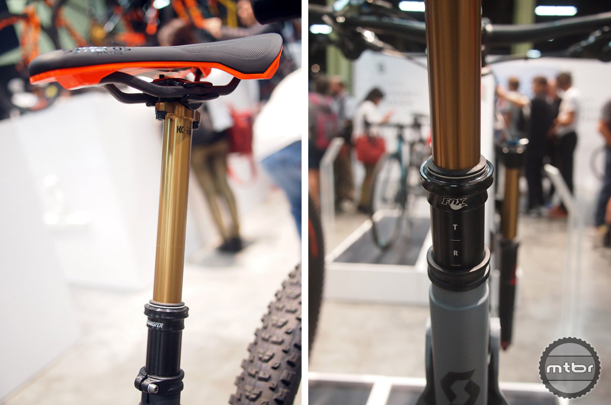 Upgrade your seatpost – dropper posts have gained in popularity such that no serious trail/all-mountain rider would be caught dead without one.