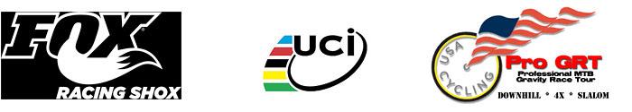 Fox UCI ProGRT Logos
